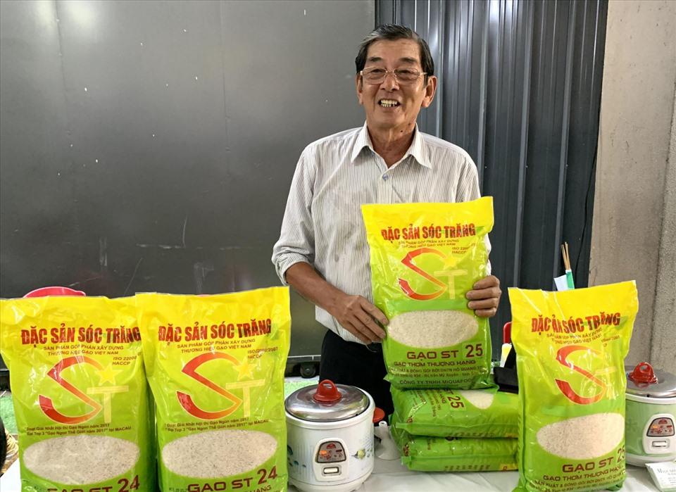 Kỹ sư Hồ Quang Cua, cha đẻ của giống gạo ST25
