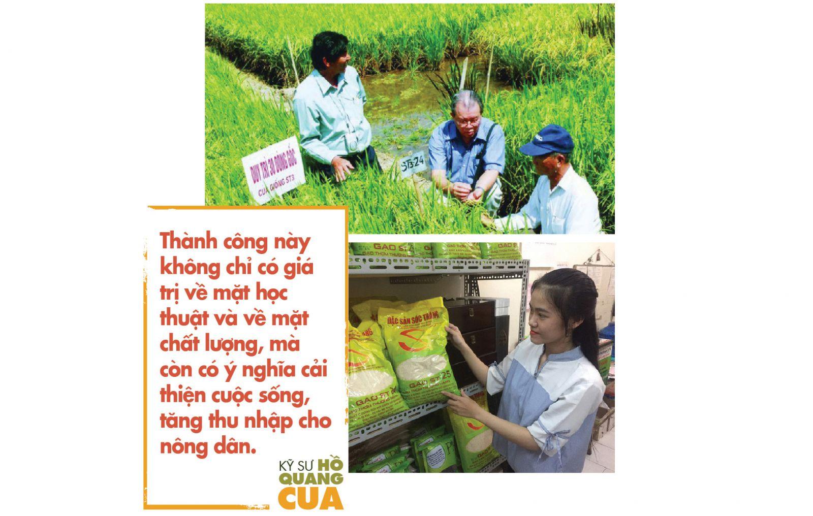 thành công này không chỉ có giá trị về mặt học thuật và về mặt chất lượng, mà còn có ý nghĩa cải thiện cuộc sống, tăng thu nhập cho nông dân. https://gaophuongnam.vn/hanh-trinh-25-nam-nghien-cuu-cua-cha-de-giong-gao-ngon-nhat-the-gioi-st25