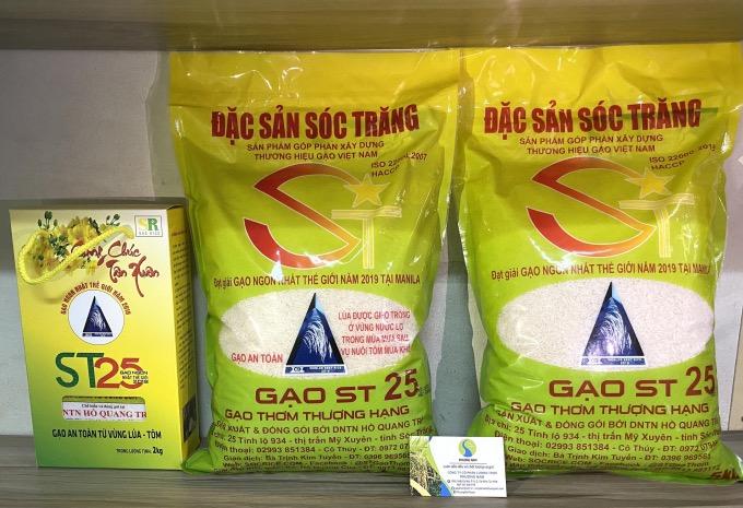 cửa hàng gạo phương nam phân phối gạo st25 chính hãng tại tphcm