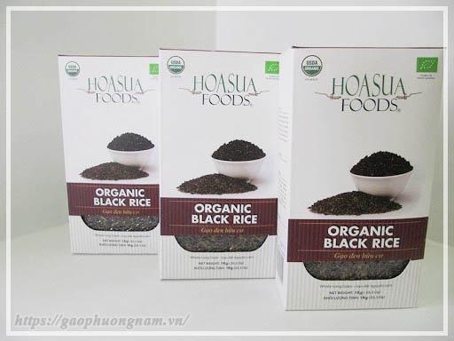 Gạo hữu cơ đen