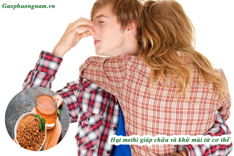 Hạt methi giúp chữa mùi hôi thoát ra từ cơ thể