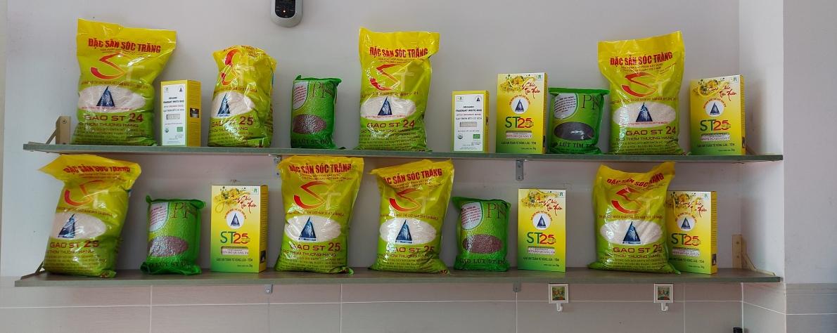 Các loại gạo Sóc Trăng (ST) tạiCông ty CP thực phẩm Phương Nam