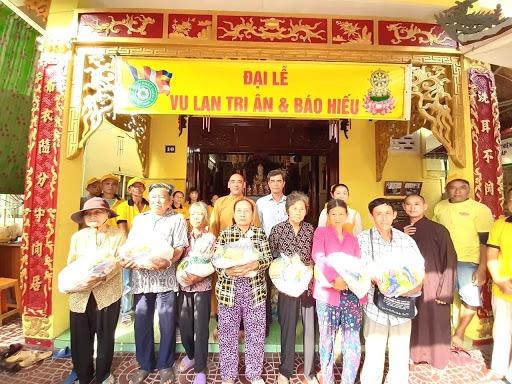 Gạo từ thiện tháng 7 - Đại lễ vu lan báo hiếu