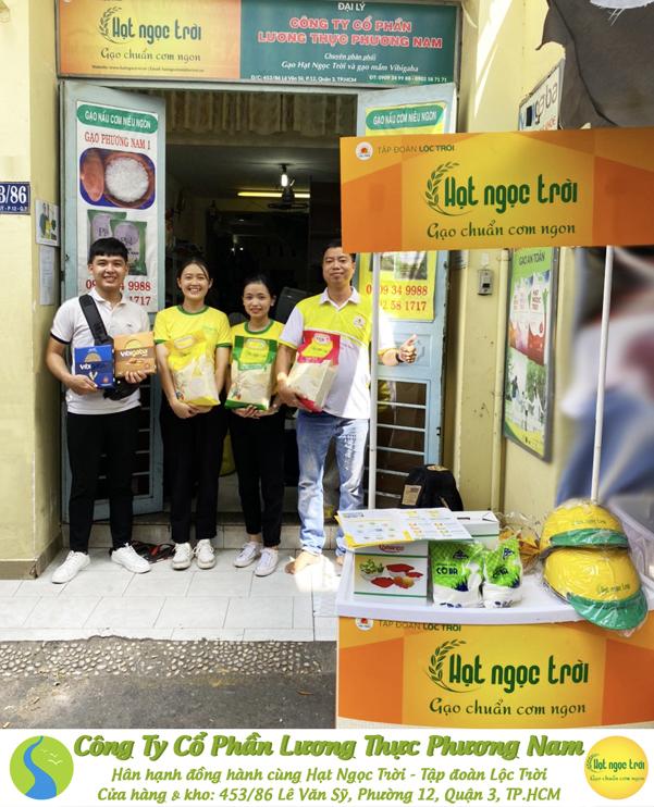 Chương trình giới thiệu sản phẩm gạo hạt ngọc trời đến với người tiêu dùng