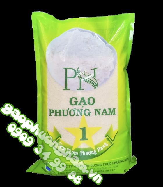 Gạo Phương Nam 1 là dòng gạo thượng hạng, hạt cơm khi nấu sẽ giữ nguyên hạt,