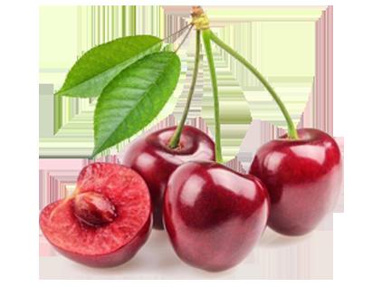 Cherry: 122 mg