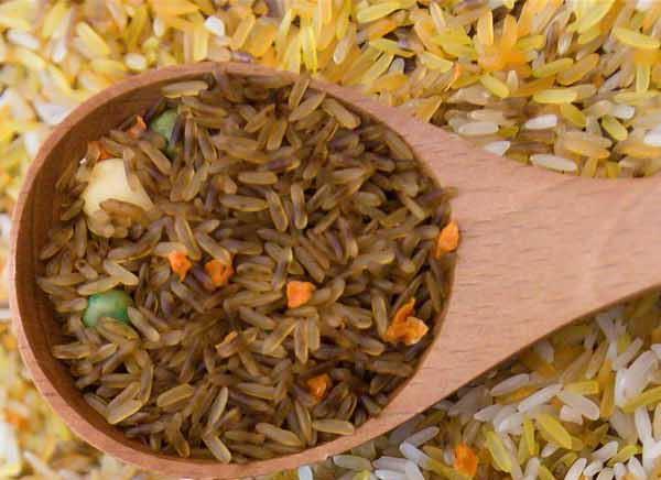 Gạo lứt mầm tẩm tỏi đen (chưa nấu)
