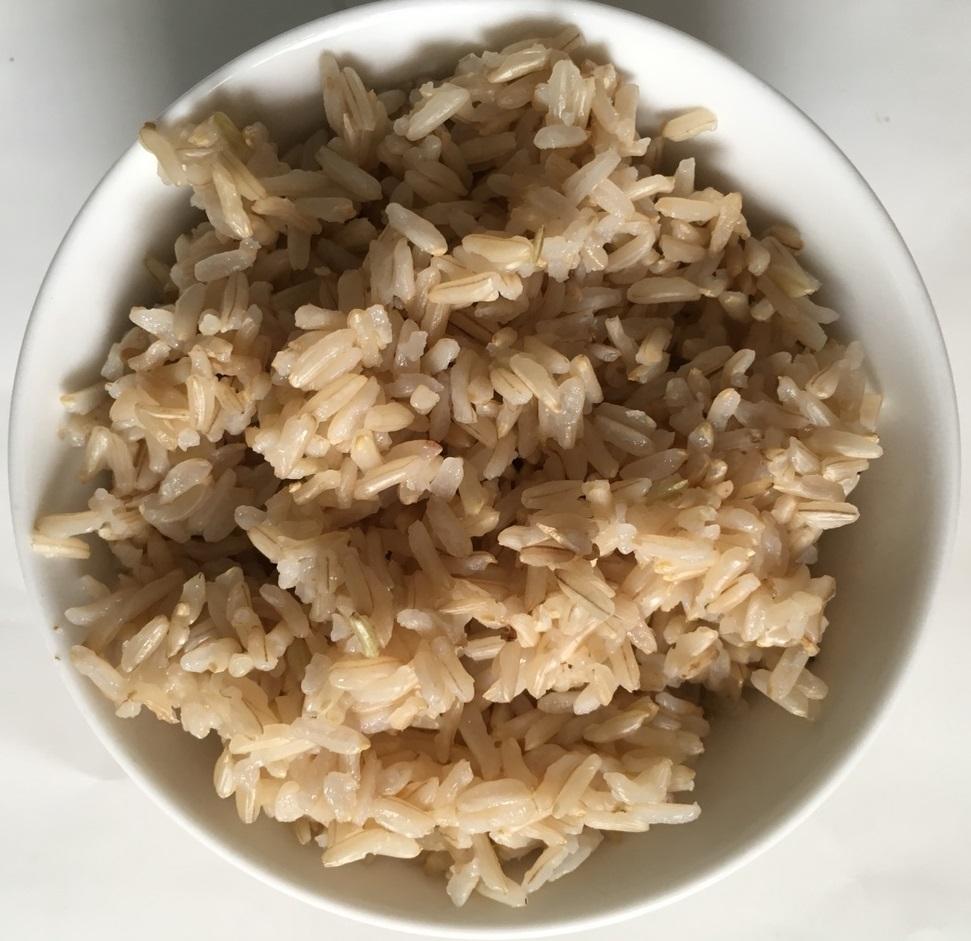 Ảnh Cơm Gạo mầm Gaba ST24 sau khi đã nấu chín