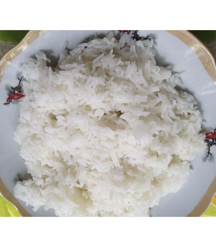 Ảnh cơm và gạo Sóc Trăng ST24