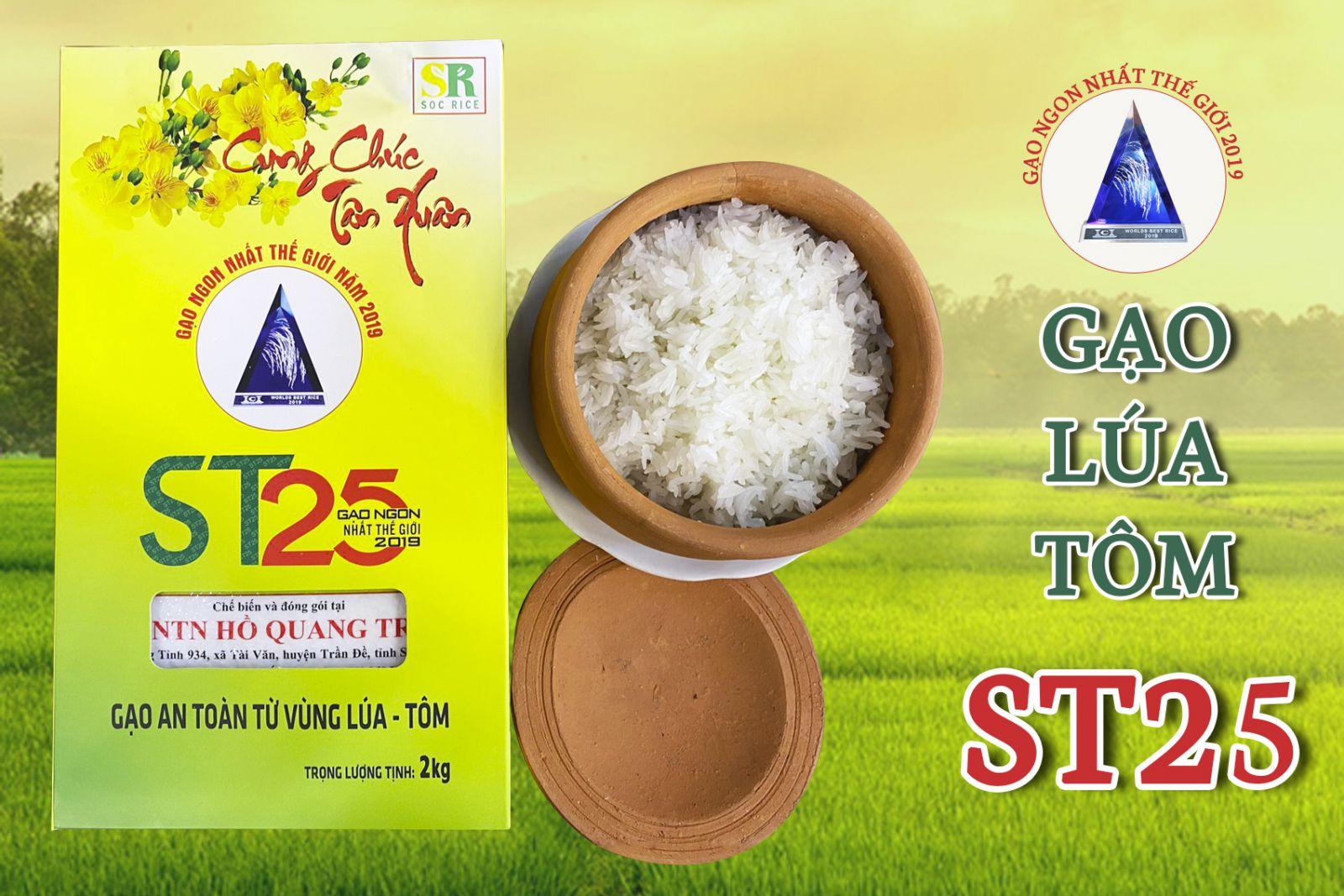 Mua Cơm gạo ST25 lúa tôm chính hãng ở đâu