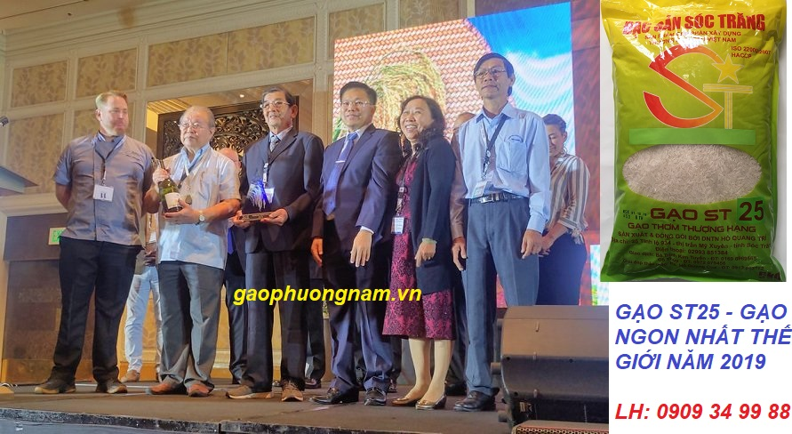 Giáo sư Võ Tòng Xuân cùng nhóm tác giả Gạo ST25 được vinh danh tại Hội nghị